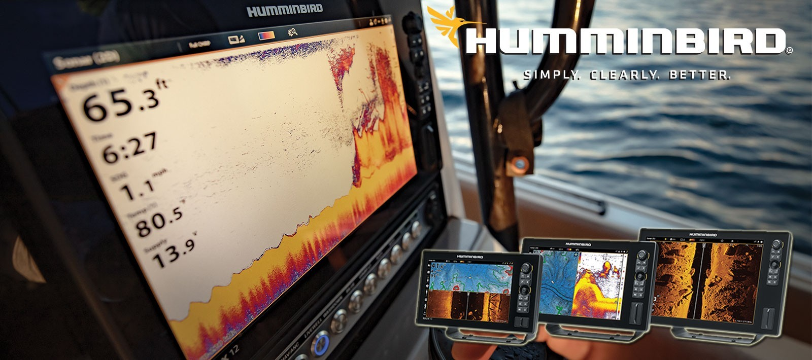 Main slider humminbird banner